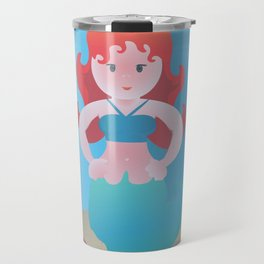 Haughty Little Mermaiden Travel Mug