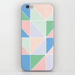 Grid Play iPhone Skin