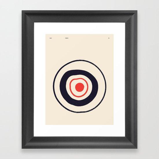 SOLAR PRIMITIVE 001 Framed Art Print