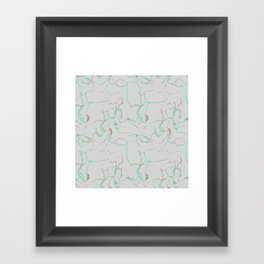 Marb Framed Art Print