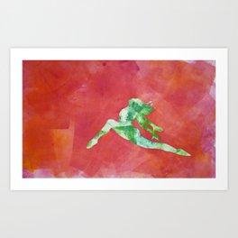 Gymnast 2 Art Print