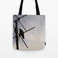 Ravens Perch Tote Bag