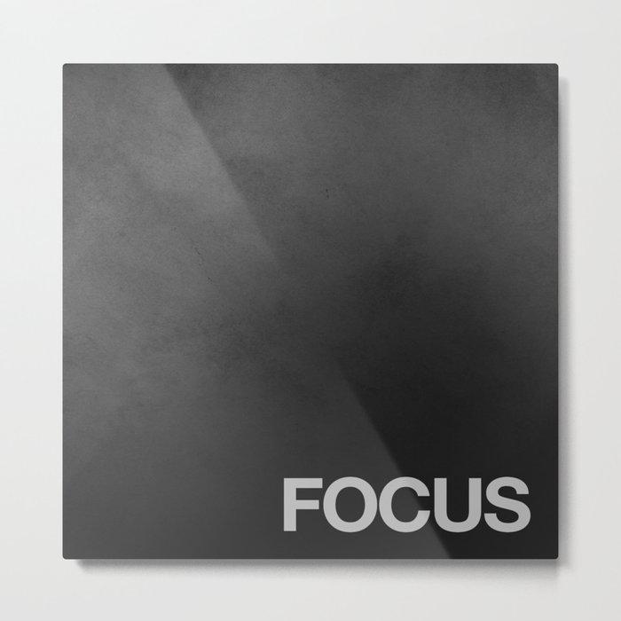 FOCUS TEXTURE Metal Print