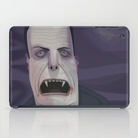 dracula iPad Cases featuring Count Dracula by Crooked Octopus