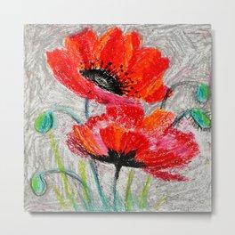 Poppies # 2 Metal Print