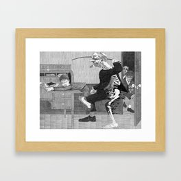 Survival Tactics Framed Art Print