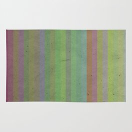 Earthy Bold Stripes Rug