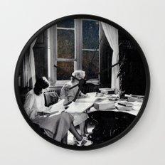 universal reading room Wall Clock
