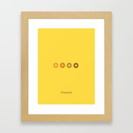 Cheerios Framed Art Print