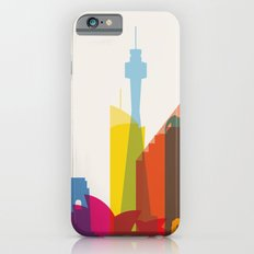 Shapes of Sydney. Accurate to scale iPhone 6s Slim Case