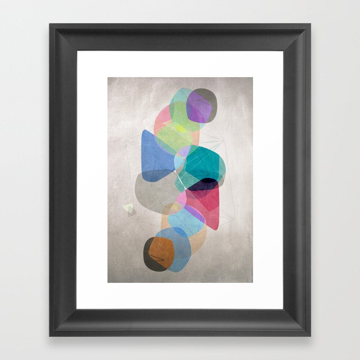 Graphic 100 Framed Art Print