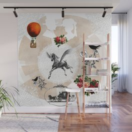 Collage vintage Wall Mural