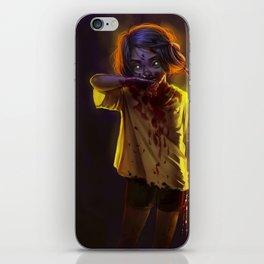 Vampire Girl (#Drawlloween2016 Series) iPhone Skin