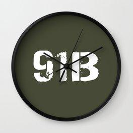 91B Mechanic Wall Clock