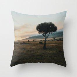 Masai Mara National Reserve VIII Throw Pillow