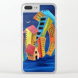 The Floating City Clear iPhone Case