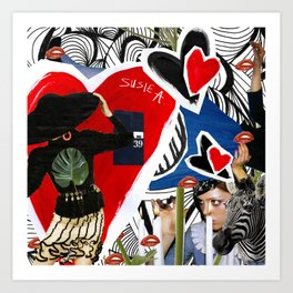 collage 092015 Art Print