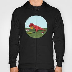 Yes T-Rex can! Hoody