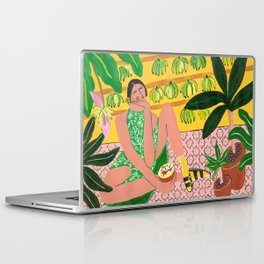 She who loves summer Laptop & iPad Skin