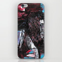 80's Cornucopia Modern Abstract Painting iPhone Skin