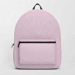 Light Pink Shambolic Bubbles Backpack