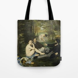 Edouard Manet - Luncheon On The Grass Tote Bag