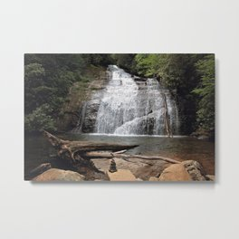 Hidden Waterfalls Metal Print