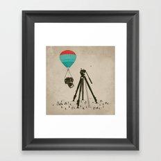 Supersize Cam Attraction Framed Art Print