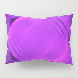 Ascending Pink Pentagram Pillow Sham