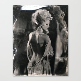 Laura Tintype  Canvas Print