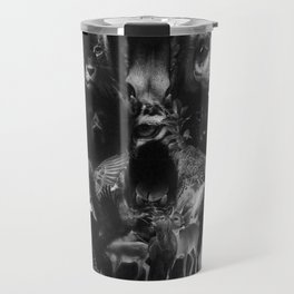Kingdom Skull B&W Travel Mug