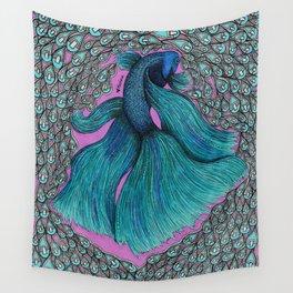 Pop Fish Wall Tapestry