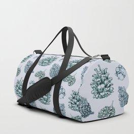 winter cone pattern I Duffle Bag