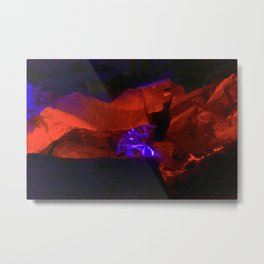 Dante grotto-2, Kungur Ice Cave, Russia Metal Print