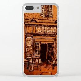 Shopfront Clear iPhone Case