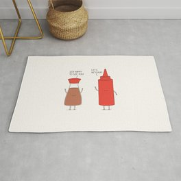 friendly sauces Rug