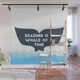 Reading is a Whale of a Time  Wall Mural