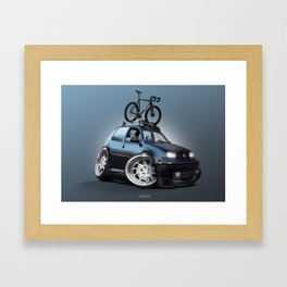 AKA: Betty Framed Art Print