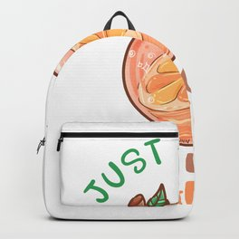 Just A Girl Who Loves Oranges Backpack
