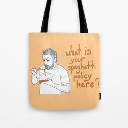 Charlie Kelly - Spaghetti Policy Tote Bag