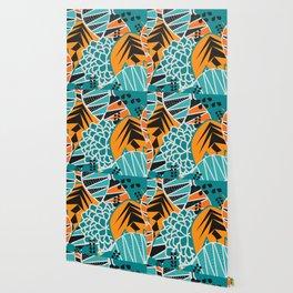 Leaf tropicana Wallpaper