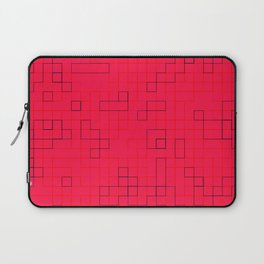 Re-Created SquaresXXIV by Robert S. Lee Laptop Sleeve