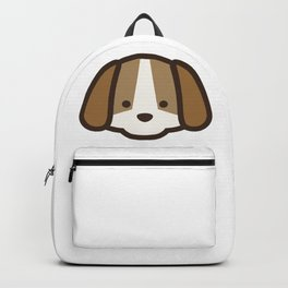 Puppy Dog Emoji Backpack