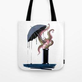 Ink rain Tote Bag