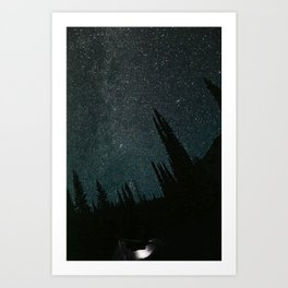 Wallowa Mountain Sky Art Print