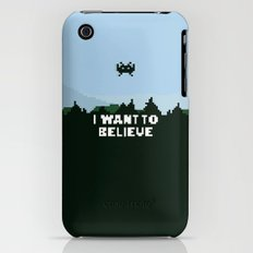 i want to believe. iPhone (3g, 3gs) Slim Case