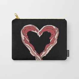 Baconlove (black background) Carry-All Pouch