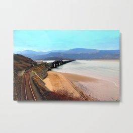 Barmouth Mid Wales Metal Print