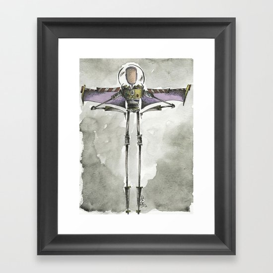 To infinity and beyond Framed Art Print