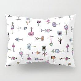 Thingamabobs (white) Pillow Sham